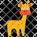 Giraffe Camelopard Animal Icon