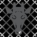 Giraffe Mammal Face Icon