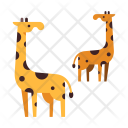 Giraffe Wildlife Animal Icon