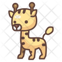 Giraffe Animal Wild Icon