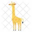 Giraffe Animal Forest Icon