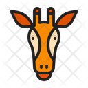 Giraffe Zoo Animal Icon