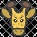 Giraffe Face Giraffe Head Emoji Icon