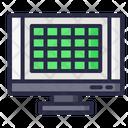 Grid Website Webpage Icon