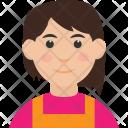 Face Girl Spy Icon