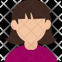 Avatar Girl Person Icon