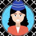 Female Avatar Girl Icon