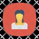Girl Student Woman Icon