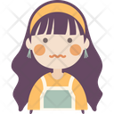 Confounded girl Icon