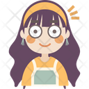 Surprised Girl Icon