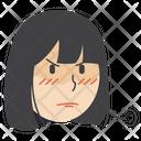 Angry Girl Icon