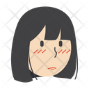 Sad Girl Icon