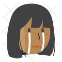 Crying Girl Icon