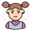 Girl Woman User Icon