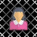 Girl Kid Child Icon