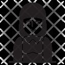 Girl Female Lady Icon