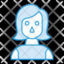 Girl Lady Female Icon