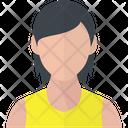 Girl Woman Avatar Icon