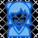 Girl Kid Avatar Icon