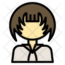 Girl Person Together Icon