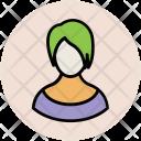 Girl Fashionable Modish Icon