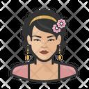 Girl Woman Female Icon