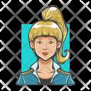 Girl Lady Avatar Icon