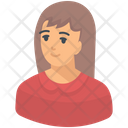 Girl Young Girl Youngster Icon