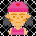 Girl Cute Girl Cute Icon