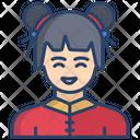 Girl Chinese Girl Chinese Icon