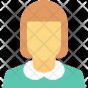 Girl Avatar Teenager Icon