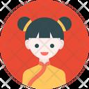 Girl Avatar Profile Icon