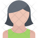 Hairstyle Style Dress Icon