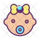 Girl Baby Icon