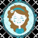 Girl Crying Icon