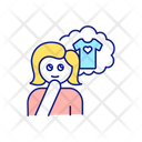 Dreaming Thinking Buying Icon