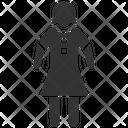 Child Girl Kid Icon