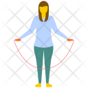 Skipping Rope Jumping Icon