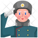 Girl Soldier Soldier Girl Icon