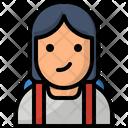 Avatar Girl Education Icon