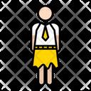 Student Girl School Icon