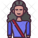 Avatar Girl Student Icon