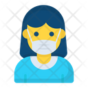 Protection Face Medical Icon