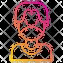 Avatar People Medical Masks Icon