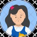 Girls Female Children Icon