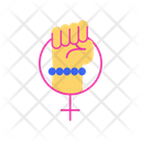 Girls Power Icon