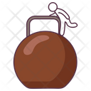 Girya Weight Icon