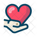 Give Heart Love Icon