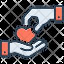 Give Take Donate Icon