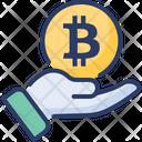 Give Bitcoin Icon